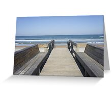 A Welcoming View Greeting Card