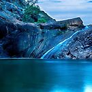 """""""Serpentine Falls"""" by Heather Thorning"""