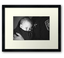 Safety Framed Print
