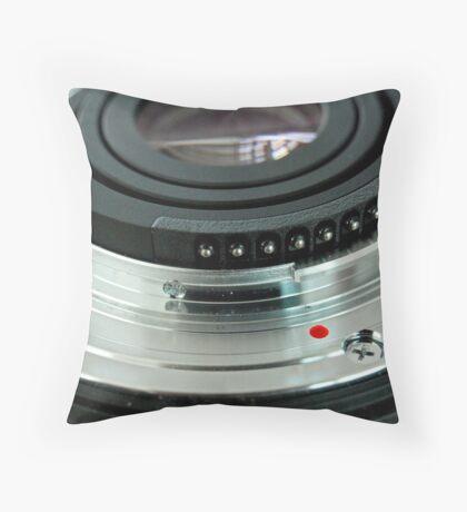 Lens Art Throw Pillow