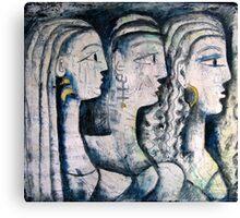 THREE GRACES Canvas Print