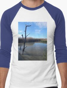 Dead Wood in the Water Men's Baseball ¾ T-Shirt