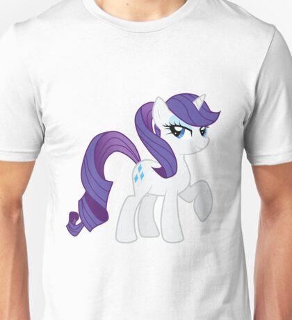 Rarity with a ponytale Unisex T-Shirt