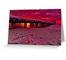"""""""Reflections On The Sand"""" Greeting Card"""