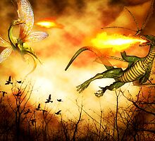Dragon's Rage by shutterbug2010