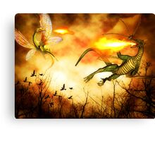 Dragon's Rage Canvas Print