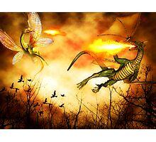 Dragon's Rage Photographic Print