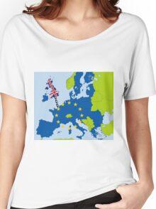 Drifting UK Women's Relaxed Fit T-Shirt