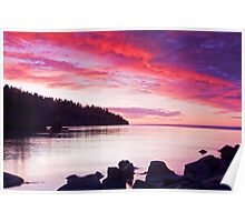 Lake Superior Sunrise Poster