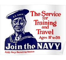 Join The Navy -- WWI Poster