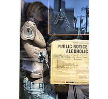 Public Notice Alcoholic Photographic Print