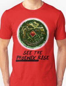 """See the Phoenix Rise"" Phoenix Mirror T-Shirt"