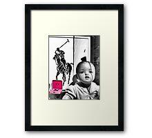 Juicy Baby Framed Print