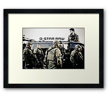 G-Star Raw Framed Print