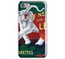 Leonetto Cappiello Affiche Papier Nil iPhone Case/Skin