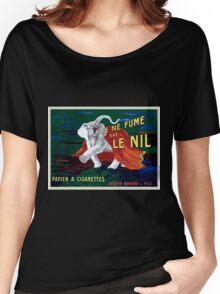 Leonetto Cappiello Affiche Papier Nil Women's Relaxed Fit T-Shirt