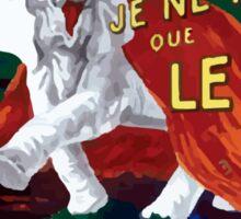 Leonetto Cappiello Affiche Papier Nil Sticker