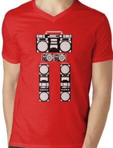 radio robot Mens V-Neck T-Shirt