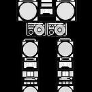 robotic radio by ozyardiansyah