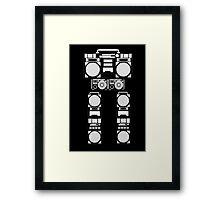 robotic radio Framed Print