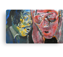 The Twin Demons of Fear and Loathing Canvas Print