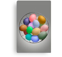 The Easter Bunny's Cache Canvas Print