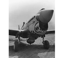 P-40 Warhawk -- World War 2 Photographic Print