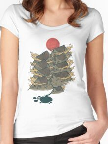 There's Chocolate in Those Mountains Women's Fitted Scoop T-Shirt