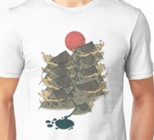 There's Chocolate in Those Mountains Unisex T-Shirt