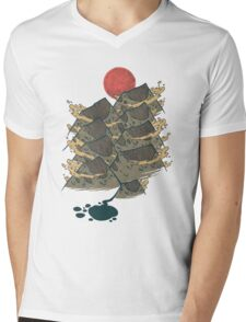 There's Chocolate in Those Mountains Mens V-Neck T-Shirt