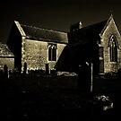 Tyneham Church by Country  Pursuits