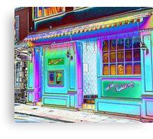 Rainbow Street... Canvas Print