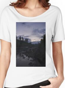 River at Dusk Women's Relaxed Fit T-Shirt