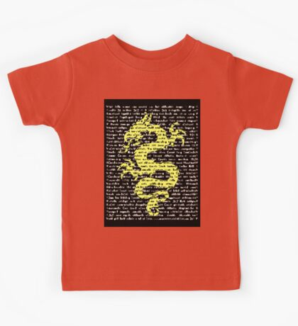 """""""The Year Of The Dragon"""" Clothing Kids Tee"""