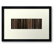 Moviebarcode: The Godfather (1972) Framed Print