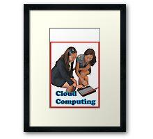 Cloud Computing Framed Print