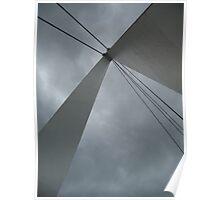 Apex of the Batman Bridge. Poster