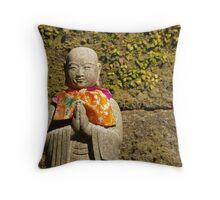 O Jizo sama Throw Pillow