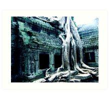 Angkor Region Art Print
