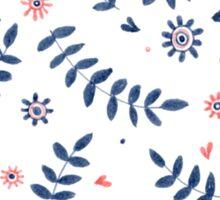 Floral deco Sticker