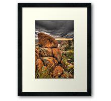 Rockview Framed Print