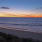 Sunset, Glenelg Beach, South Australia by Ian Williams