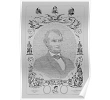 The Emancipation Proclamation - Abraham Lincoln Poster