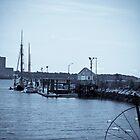New Haven Pier by ksmdigiphoto