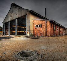 Old Railway Workshop - Collie WA by Chris Paddick