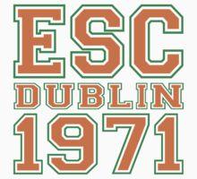 ESC Dublin 1971 [Eurovision] One Piece - Short Sleeve