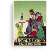 Leonetto Cappiello Affiche Royal Melchior Canvas Print