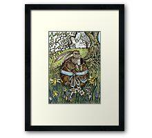 The Easter Egg Hunt Framed Print