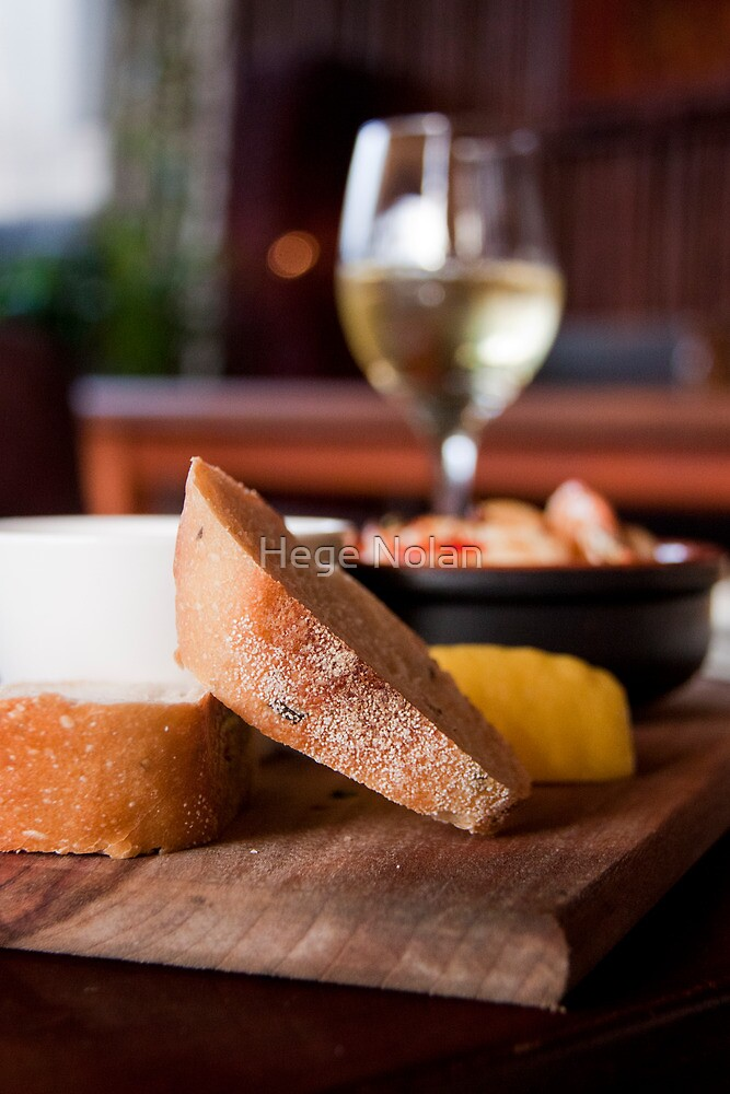 a snack before wine by Hege Nolan