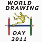 World drawing day T-shirt entry by Margaret Sanderson